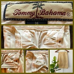 Tommy Bahama Men's Dress Pants/Slacks. Light Tan